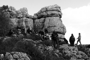 Tony Brown lectures at El Parque Torcal