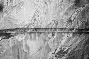The old and new pathways of the Caminito del Rey