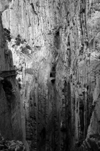 A view from the Caminito del Rey